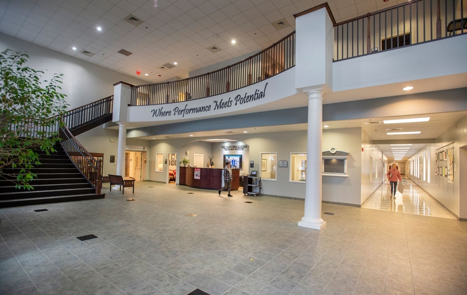 The Belk Lobby