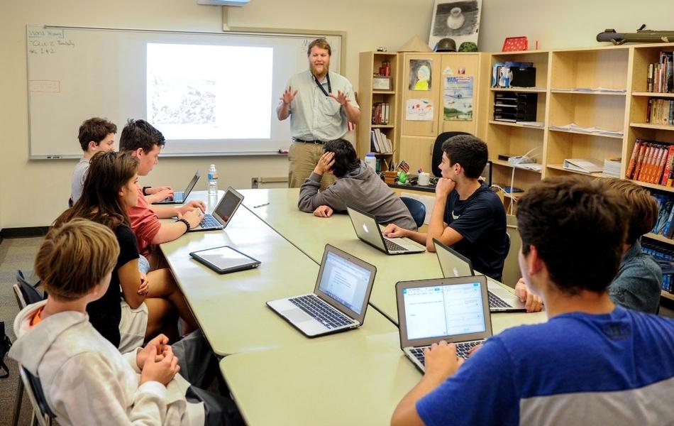 Upper School Classroom