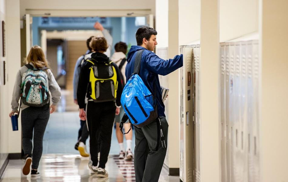 Upper School Hallway