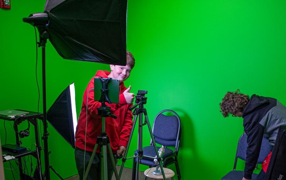Green Screen Room in TLC